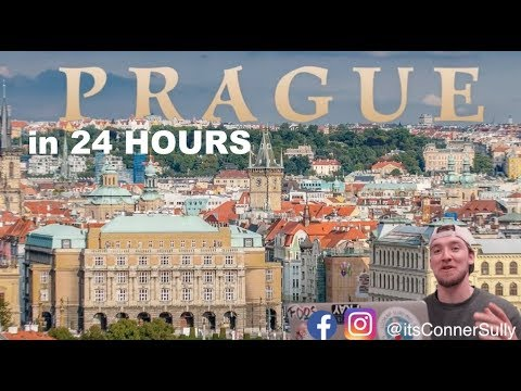 24 hours in PRAGUE, Czech Republic! (Travel Guide)