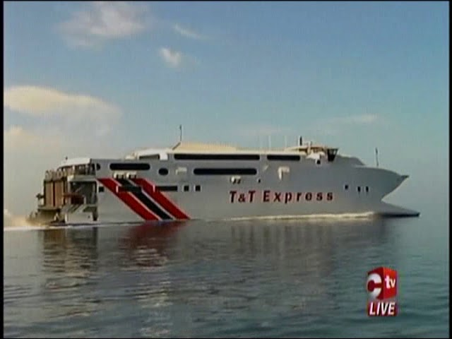 T&T Express Sailing Cancelled Due To Rough Seas