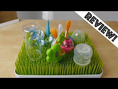Abtropfgestell // Trockengestell für Babyflaschen // Boon B397 Lawn // Drying Rack (deutsch)