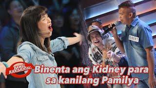 Binenta ang Kidney para sa kanilang Pamilya | Bawal Judgmental | December 14, 2019