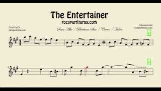 The Entertainer Sheet Music for Alto Saxophone Baritone Saxophone and Horn