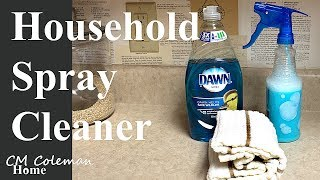 Vinegar Dishsoap Household Spray Cleaner