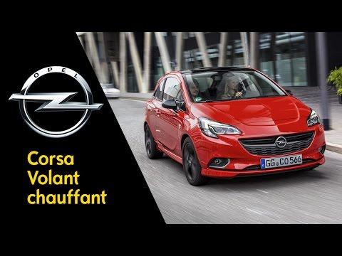 Opel Corsa – Avec volant chauffant et Opel OnStar