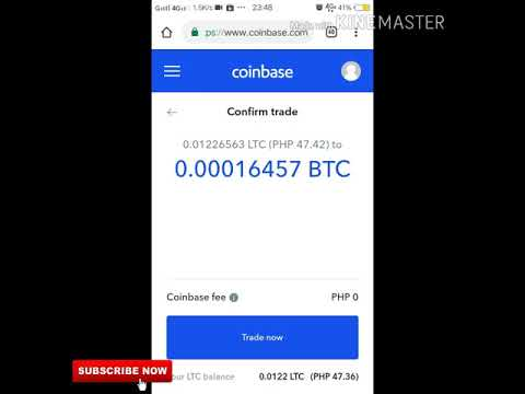 How to CONVERT cryptocurrencies using coinbase litecoin to bitcoin
