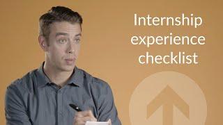 How to end your internship right (Internship Experience Checklist)