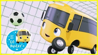 Buster Plays Soccer - NEW!! | GoBuster Official | Nursery Rhymes | Kids Videos | Single Episode
