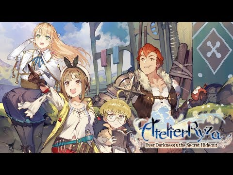 Atelier Ryza: Ever Darkness & the Secret Hideout   First 57 Minutes on Nintendo Switch - First Look