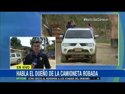 Controversia por supuesta camioneta robada de negociadores de las FARC en el Cauca