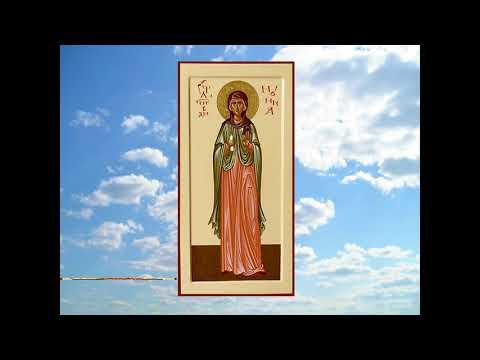 Праведная Нонна Назианзская, диакониса  мать св.Григория Богослова