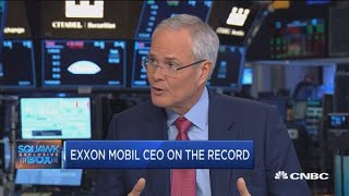Exxon Mobil CEO Darren Woods explains its plan to increase capital spending