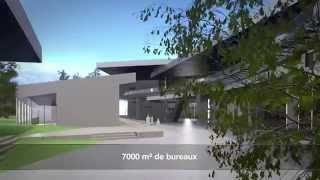 Film architecture 3d Auchan