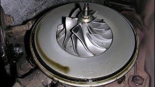 Что кидает масло: двигатель или турбина?