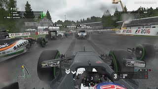 F1 2016 [Xbox One] - 5 Lap Race at SPA