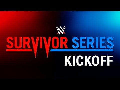 Survivor Series Kickoff: Nov. 19, 2017