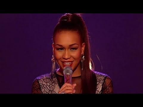 Rebecca Ferguson sings Teardrops - The X Factor Live - itv.com/xfactor