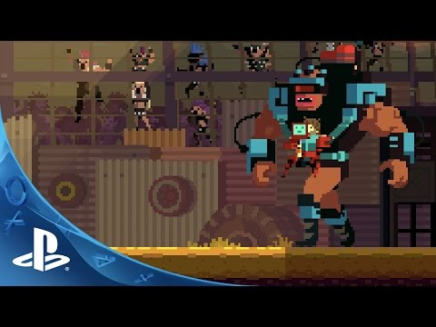 Super Time Force Ultra - PlayStation Experience Trailer | PS4, PS Vita thumbnail
