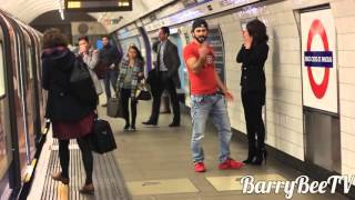 Kissing Prank - London Subway Edition (Gone Wild)