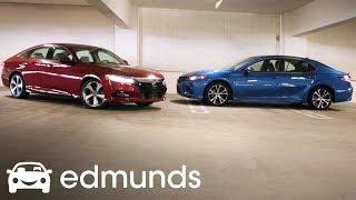 2018 Honda Accord vs. 2018 Toyota Camry Comparison | Edmunds