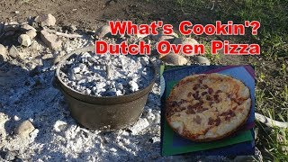 Dutch Oven Recipes: Pizza - Easy Campfire Cooking