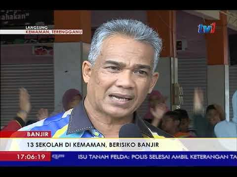 LANGSUNG DARI KEMAMAN -  PERKEMBANGAN TERKINI BANJIR DI TERENGGANU 5PM [4 JAN 2018]