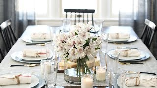 Entertaining With A Casual Elegant Dinner Party