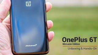 OnePlus 6T McLaren Edition - Unboxing & Hands-On