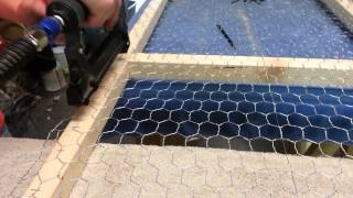 How To Stretch Chicken Wire For Fence Panels