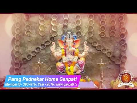Parag Pednekar Home Ganpati Decoration Video