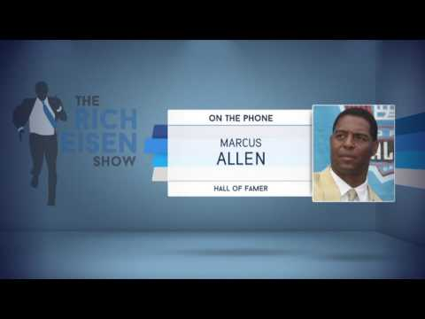 Pro Football Hall of Famer Marcus Allen on Why Tom Flores Isn't in The Hall of Fame - 12/8/16