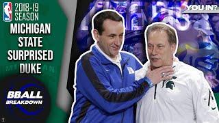 Krzyzewski Outcoached By Izzo: Michigan St Upsets Duke