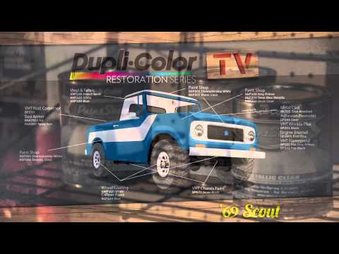Dupli-Color 2013 Restoration Series: 1969 International Harvester Scout 800 - Intro