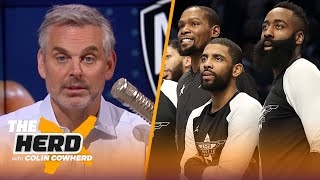James Harden going to Nets shows difference between LeBron & Kevin Durant — Colin | NBA | THE HERD by Colin Cowherd