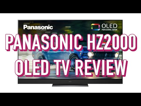 External Review Video Kz6fcjJO87A for Panasonic HZ2000 OLED 4K TV