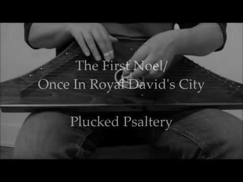 Lap Harp - The First Noel/Once In Royal David's City