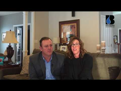 Marty and Jennifer Valentic share their experience on dealing with basement water issues for years, and how Baker's Waterproofing restored their peace of mind.