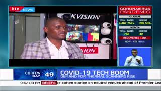 The use of information technology deemed pivotal in curbing COVID-19 infections in Kenya