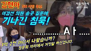 김현아가 사퇴한 이유 ( 라고 생각하는 부분 )