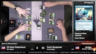 Pro Tour Magic Origins Round 10 (Draft): Owen Turtenwald vs. Scott Markeson