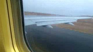 preview picture of video 'Decolagem TACV aeroporto da Praia - Cabo Verde'