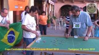 preview picture of video 'Copa Confederaciones Futbolchapas Brasil 2013 en Turégano'