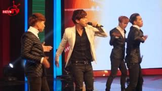 """Hồ Quang Hiếu remix """"Không Cảm Xúc"""" cực sung trên gameshow Bạn Có Thực Tài?."""