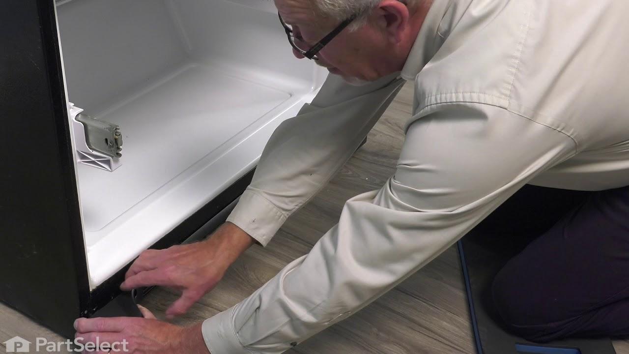 Replacing your Whirlpool Refrigerator Kickplate Grille - Black
