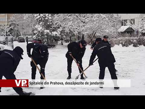 Spitalele din Prahova, deszăpezite de jandarmi