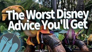 The Worst Disney World Advice You'll Get