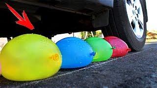 EXPERIMENT: CAR VS BALLOONS