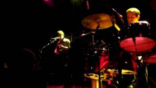 """The Dodos, """"Paint the Rust"""" at Bowery Ballroom in NYC"""
