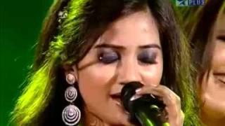 Shreya & her team in Muqqabla Aar-Paar on Music ka Maha Muqqabla