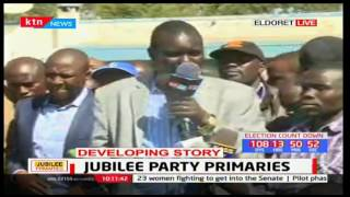 Jackson Mandago says Uasin Gishu aspirants have officially postponed their nominations