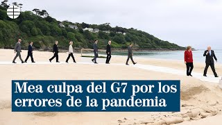 """Mea culpa del G7: """"No repetiremos errores pasados"""""""