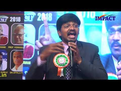 Ask Yourself Where You Want See | Sudheer Sandra | TELUGU IMPACT Srikakulam 2018
